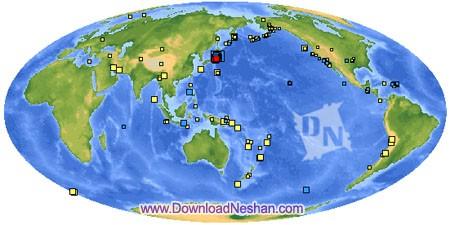 سایت زلزله نگاری وابسته به ایالات متحده آمریکا