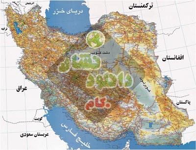 نقشه راه های ایران